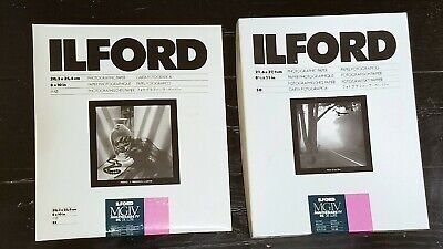 Ilford MGIV Multigrade IV RC De Luxe Glossy Photographic Paper Open Boxes