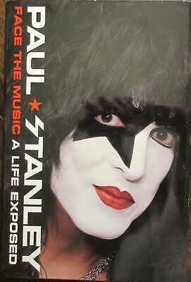 Paul Stanley Kiss Signed Book - PSA DNA