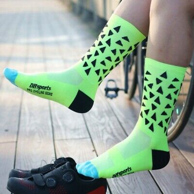 ALS/_ Unisex Breathable Outdoor Sports Hiking Camping Socks Cycling Runnin My FA