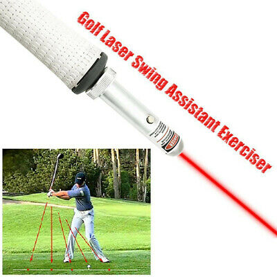 Laser Sight Golf Swing Training Aid Flat Concealer Trainer Pointer Point Tools