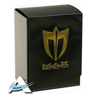 Deck Box MAX Protection Metallic - Nero • Portadeck •  ANDYCARDS