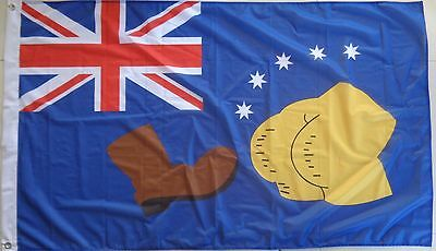 The Simpsons Australia Flag Boot Australian Flag  AUSPOST REGISTERED TRACKING