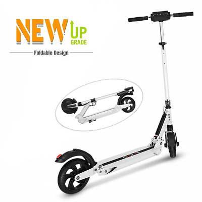 """Scooter eléctrico adultos, LCD impermeable 8.5"""" retroceso neumático Max 30 KM/H"""