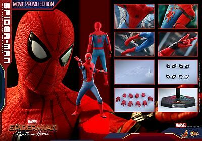 (Es) Hot Toys 1/6 Spider-Man Far From Home Mms535 Peter Parker Movie Promo Ver
