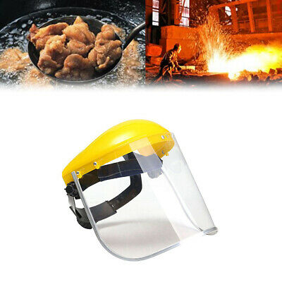 Clear Safety Grinding Face Shield Screen Mask Visors For Eye Face Protection Z
