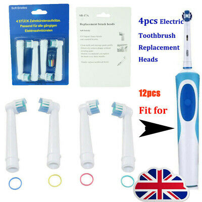12 Pcs Precision Electric Toothbrush Replacement Brush Heads For Oral B Braun uy