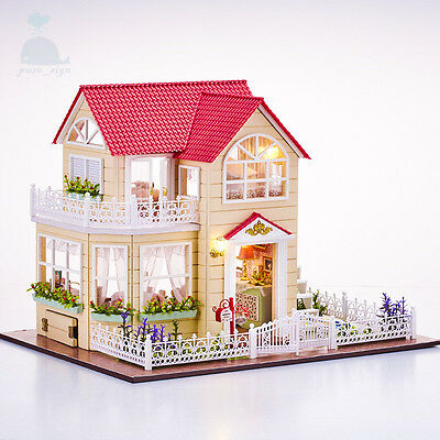 DIY Handcraft Miniature Furniture Project My Princess Cottage Wooden Dolls House