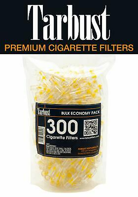 TarBust Disposable Cigarette Filters, 300 Filters Bulk Economy Pack | Efficient