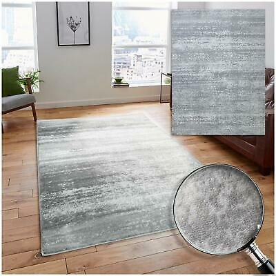 Large Grey White Cream Vintage Faded Style Dining Room Area Rugs Bedroom Carpets