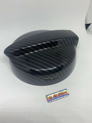 x1 Carbon Look Petrol Cap Gas Fuel Cover for MINI 01-06 R53 Cooper S Mini Bitz