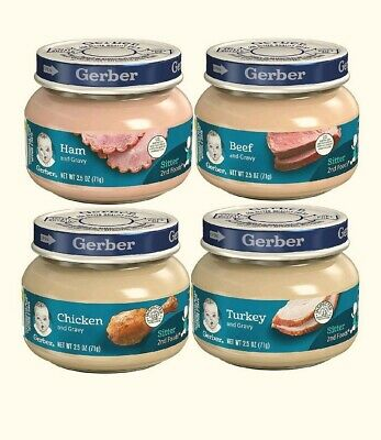 Gerber 2nd Foods Meats 2.5-Ounce (Pack of 12)