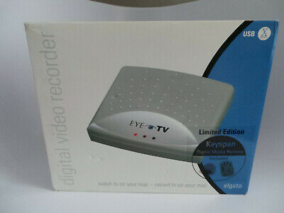 ELGATO VIDEO CAPTURE EyeTV 200 FireWire S-Video Digital Recorder DVR