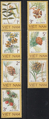 N.Vietnam MNH Sc 1724-30 Mi 1760-66  Value $ 5.00 US $ Flora