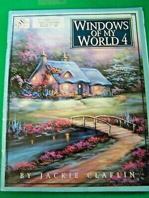 Windows Of My World V4 Jackie Claflin 1996 Oil Scheewe Landscapes Paint Book