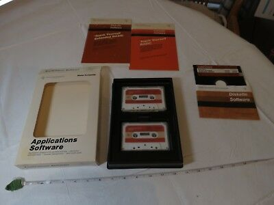 Texas Instruments home computer PC applications software PHD 5019 VINTAGE RARE