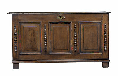 18Th Century Small English Oak Coffer