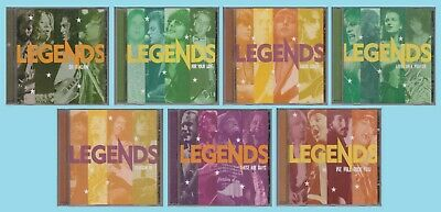 TIME LIFE Legends of Rock Ultimate Collection 7 CD Lot 60s 70s & 80s Classics
