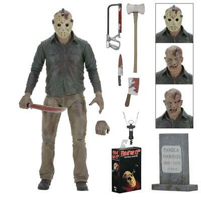 """NECA Friday the 13th Part 4(IV) Final Chapter JASON Voorhees 7"""" Ultimate Figure"""