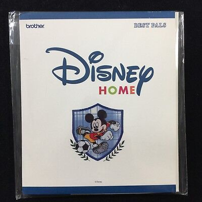 Embroidery Designs Card Best Pals for Brother Disney Embroidery Machines