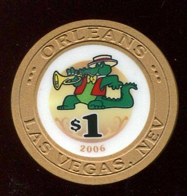 $1 Las Vegas Orleans 2006 Obsolete Casino Chip - Uncirculated
