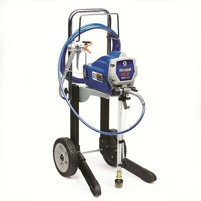 Graco Blue LTS 17 Electric Stationary Airless Paint Sprayer with Mobile Cart