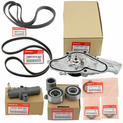 New Genuine OEM Timing Belt & Water Pump Kit For Honda/Acura V6 Factory Parts