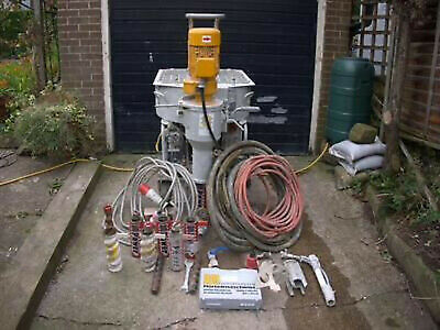 Putzmeister MP 25 Plastering Machine And 20 Kva Generator