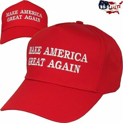 Donald Trump 2020 Make America Great Again Cap MAGA Embroidered Hat Red NEW