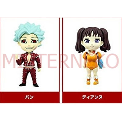 Phone Strap Figure - The Seven Deadly Sins - Ban & Diane