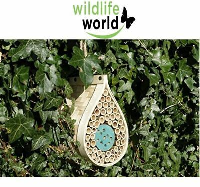 Bee and Bug Hotel House Bamboo Dewdrop Design from Wildlife World
