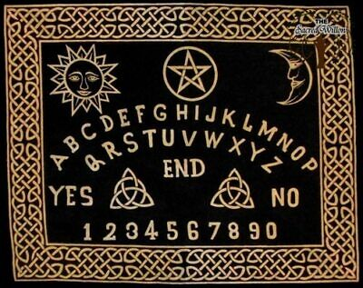 60cm Ouija Board Altar or Tarot Cloth Cotton Wall Hanging Table Spell