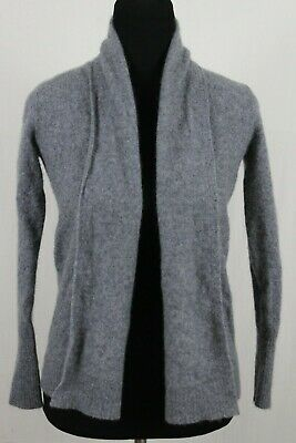 Details about TAHARI PURE LUXE 100% CASHMERE Open Front Cardigan Sweater Size L #CA525