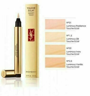 YSL Yves Saint Laurent Touche Eclat Radiant Highlighting Concealer (24 Hrs Post)