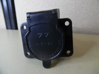 Cequent Electrical 50-77-001 7-Way Plastic Electrical Connector