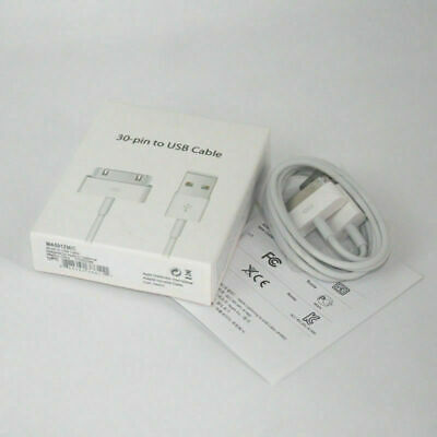 NEW Original OEM Apple iPhone 4 4S 3GS 3G 30Pin USB Sync Data Charger Cable