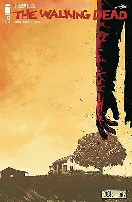 Walking Dead #193 As Seen In The News Triple Sized Last Issue New 1 Sold Out Nm