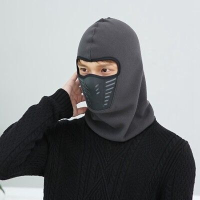 Full Face Mask Outdoor Ski Motorcycle Cycling Balaclava Winter Fleece Windproof~