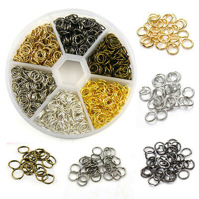 Wholesale Open Jump Rings Silver Gold Bronze,4mm-20mm Jewelry Making R3002