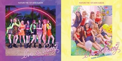 NATURE - I'm So Pretty (1st Mini) CD+2Photocards+1On Pack Poster+Tracking no.