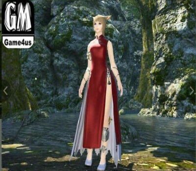 FINAL FANTASY XIV FFXIV FF14 Item Character Far Eastern Garb for Women / Code
