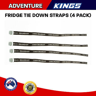 Fridge Straps 4 Pack Safety Ties Tie Down Adventure Kings