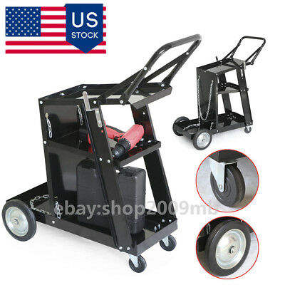 Professional Heavy Duty Welding Cart Trolley Plasma Cutter Bench without Drawer
