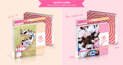 TWICE - TWICECOASTER : LANE 1 (3rd Mini) CD+2Photocards+Poster+Free Gift