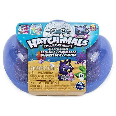 Hatchimals CollEGGtibles Series 5 Sapphire Spings Shell 6 Pack