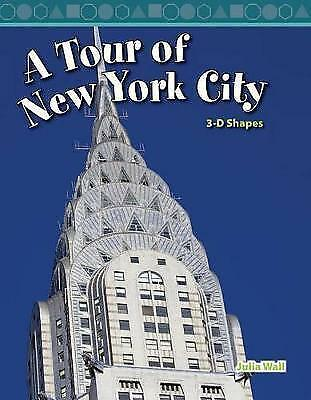 A Tour of New York City 3D Shapes Book Julia Wall Maths Manhattan Americana USA