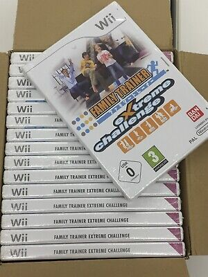 Wholesale Job Lot 45 X Nintendo Wii Family Trainer Extreme Challenge Video Games