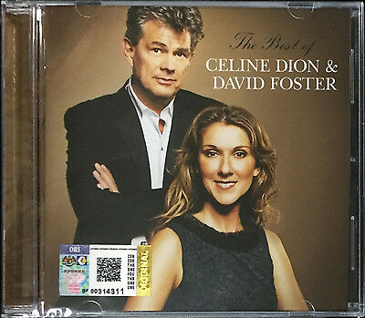 CELINE DION & DAVID FOSTER The Best Of 2012 MALAYSIA CD RARE NEW FREE SHIPMENT
