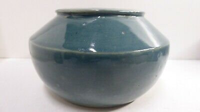 Marianne Albiston Australian Pottery Art Deco Vase Bowl Studio Ceramic Artist