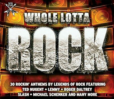 Whole Lotta Rock - 30 Rockin' Anthems By Legends Of Rock 2CD NEW/SEALED