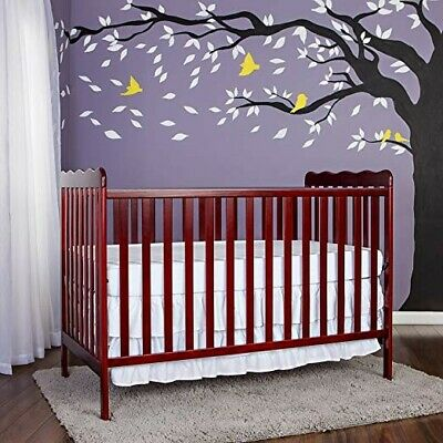 Dream On Me, Carson Classic 3 in 1 Convertible Crib in Cherry